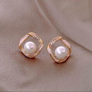 Elegant Simple Square Earrings